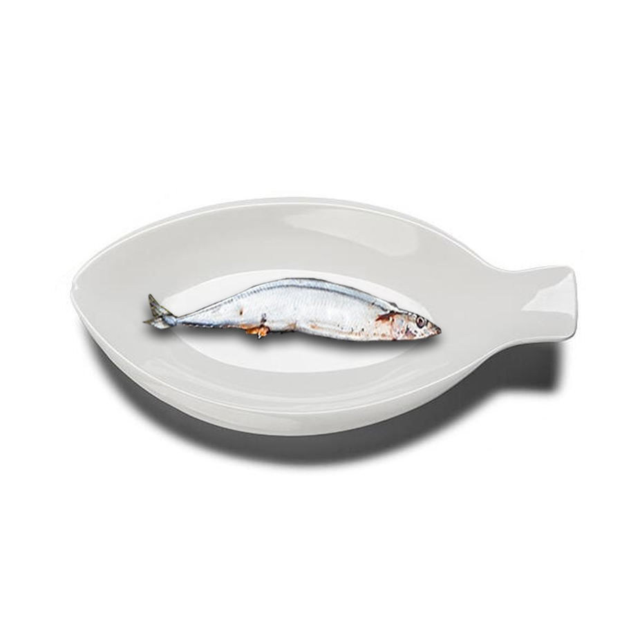 1PCS Durable Melamine Solid White Fish Shaped Deep Plates Heat resisting Irregular Special Plastic Hotel Serving Dishes -in Dishes \u0026 Plates from Home ...  sc 1 st  AliExpress.com : plastic fish plates - pezcame.com
