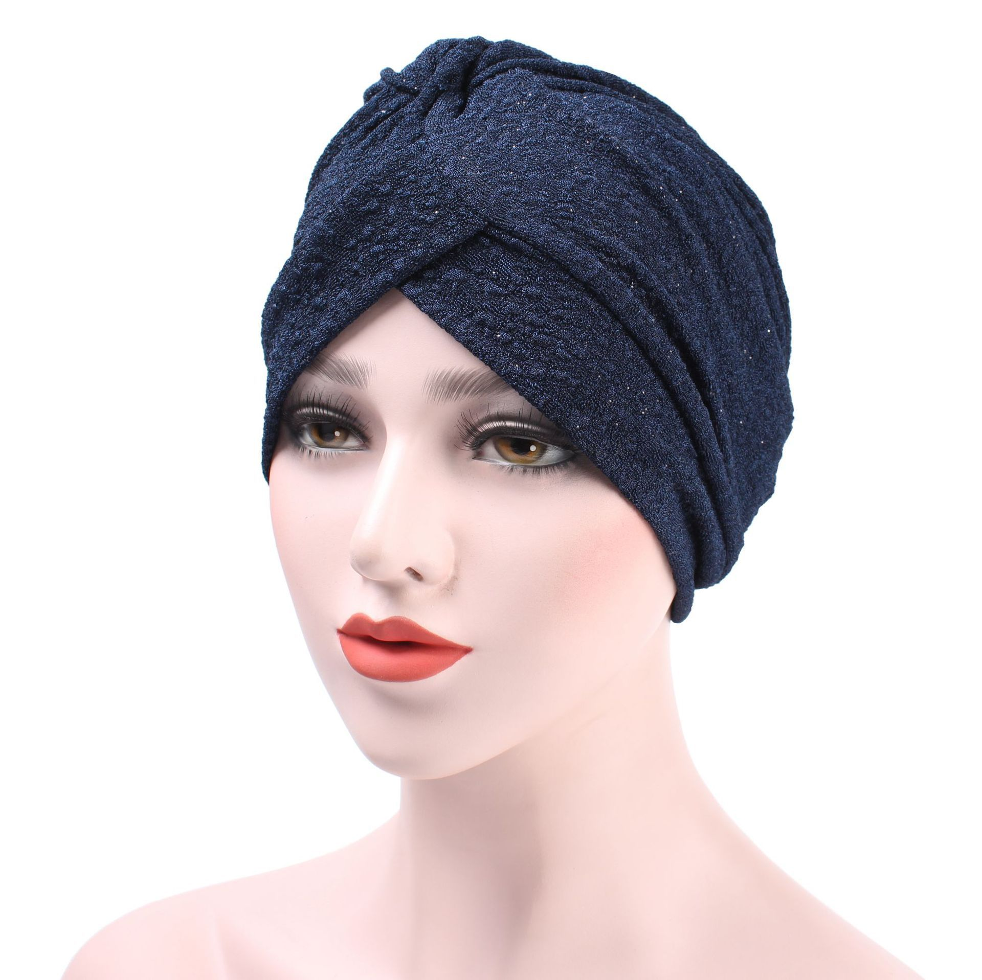 New Woman Turban Elastic Cloth Head Cap Hat Chemo Ladies Hair Accessories  Muslim Scarf Cap-in Islamic Clothing from Novelty   Special Use on  Aliexpress.com ... 1f358328cfc5