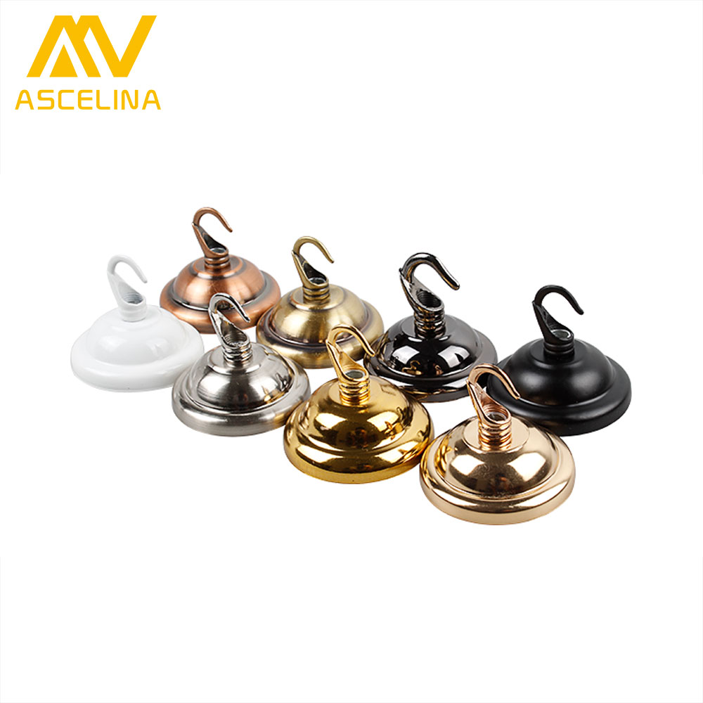 ceiling cover plate hook pendant lamp decoration metal accessories chandelier Parts Vintage Ceiling Holder For Light Fitting