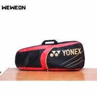 New Style Men Women Outdoor Racket Sports Tennis Bag PU Single Shoulder Handbag Tennis Squash Badminton Racquete Accessories