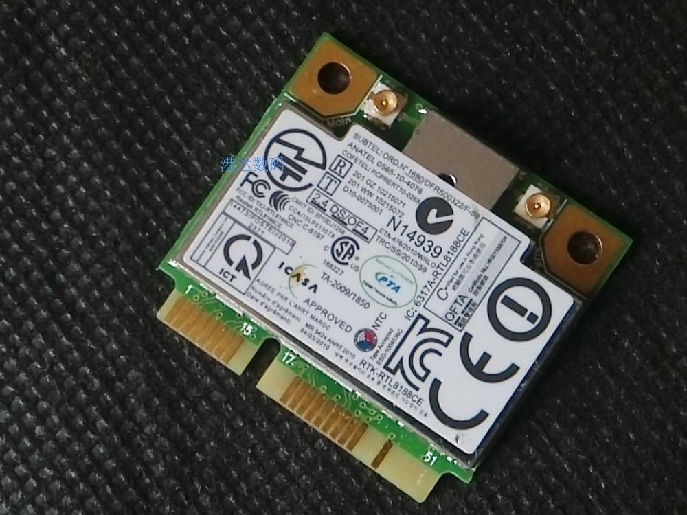SSEA Новая беспроводная карта RealTek RTL8188ce RTL8188EE Половина Mini PCI-E для Lenovo S220 B490 E520 E525 W520 E31 FRU 60Y3247