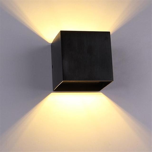 led wandleuchten schlafzimmer nachttischlampen banheiro. Black Bedroom Furniture Sets. Home Design Ideas
