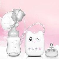 מראש מכירה! 99 יחידות מוצר תינוק 2017 חדש צוהל קיטי USB יחיד משאבת חלב חשמלית עם 150 ML בקבוק מחיר זול עבור אתה