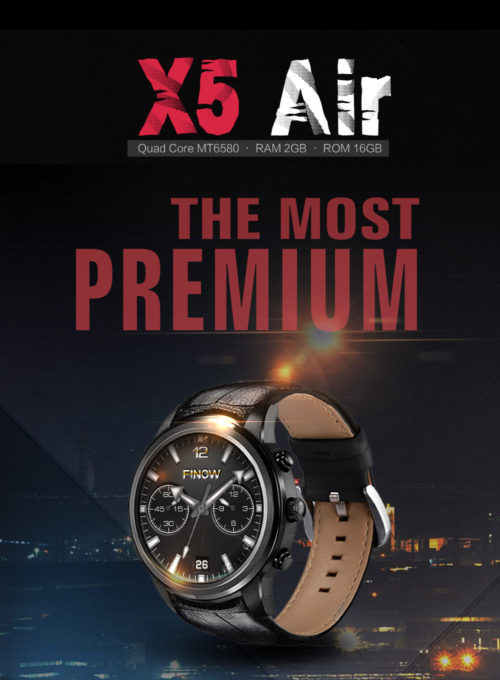finow x5 air smart watch02