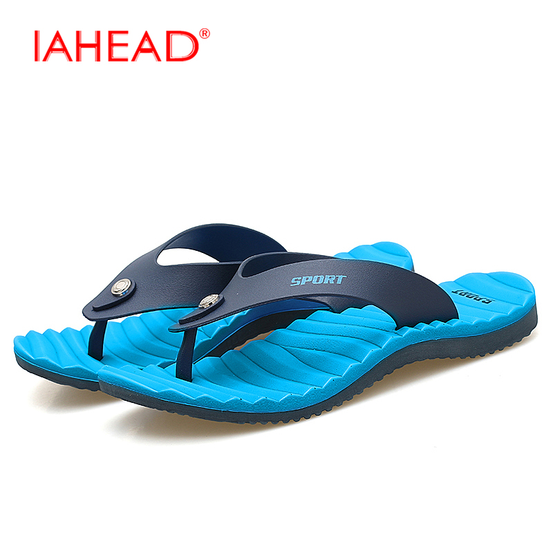 Men Slippers Summer Men Sandals Fashion Breathable Beach Slippers Flip Flops Beach Water Shoes Brown Blue White Plus Size MS157 sandals men fashion new brand buckle mens flip flop sandals casual slippers brown summer beach sandals men shoes breathable