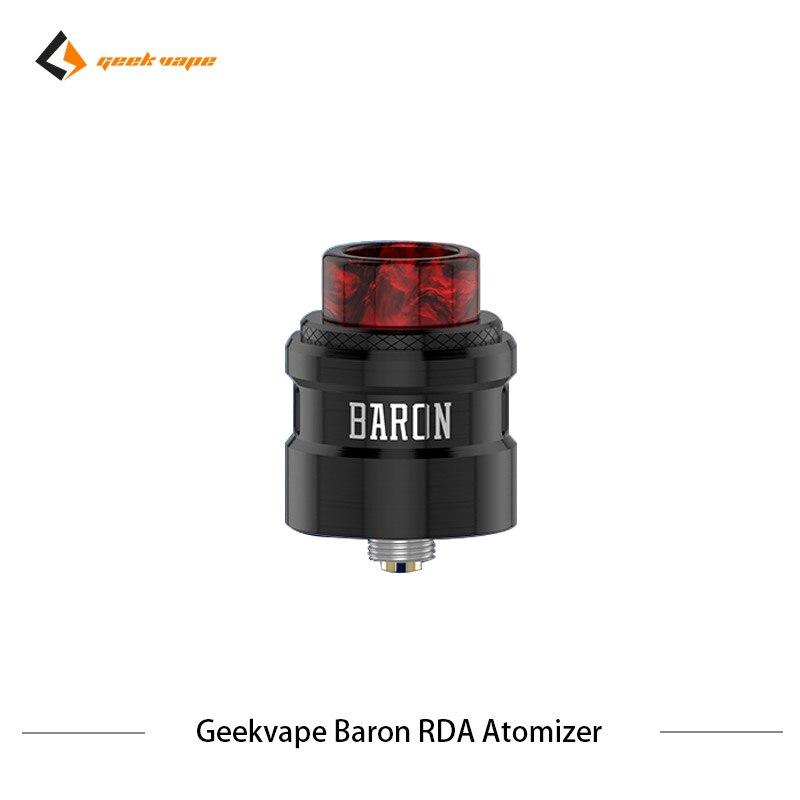 2 pcs/lot Geekvape Baron RDA système de flux d'air 24mm atomiseur RDA Squonker RDA 510 vs drop dead RDA réservoir de Vape de Cigarette électronique - 2