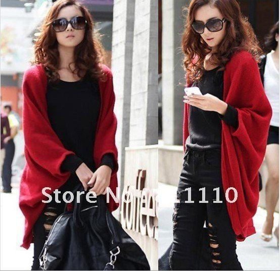 Trend Knitting  2013 new women's  thicken Warm cardigan sweater jacket shawl loose long coat Euramerican style