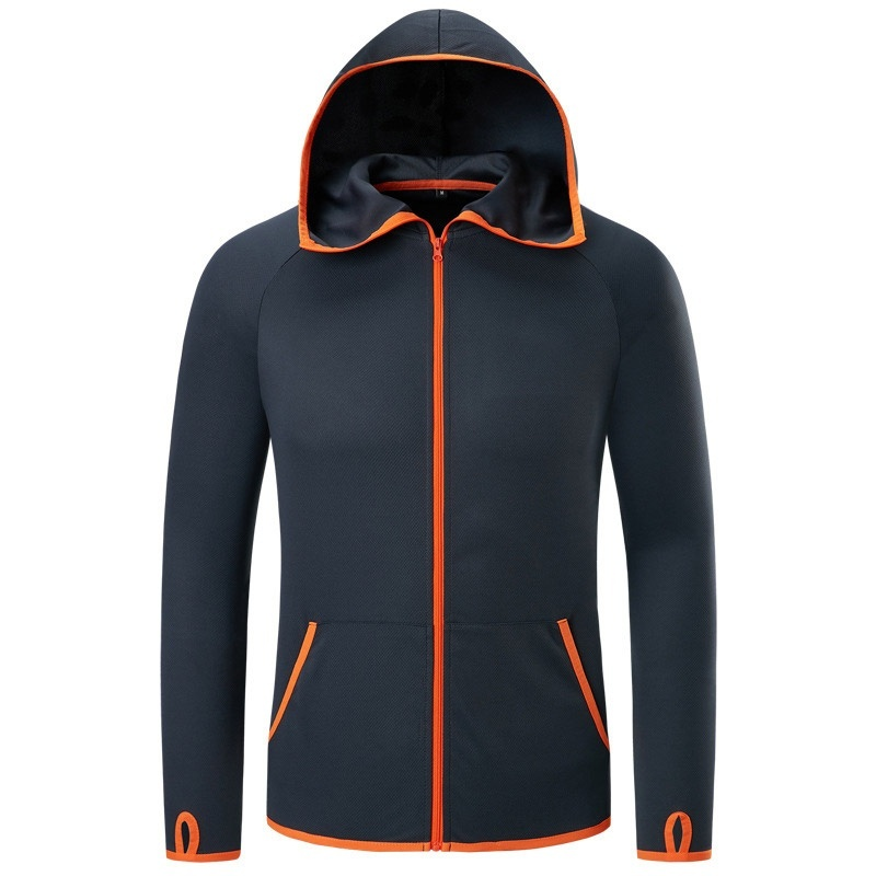 Fishing Men Clothes Tech Hydrophobic Clothing Brand Listing Casual Kleding Outdoor Camping Hooded Jackets Ice Silk Waterproof