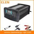 Clen 12 V 5A / 10A / 15A carregador de bateria de carro tensão carregador de bateria comutável inteligente pulso reverso carregador