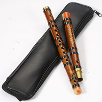Handcrafted Bitter Bamboo Flute Dizi With Bag Dimo F D C G Key