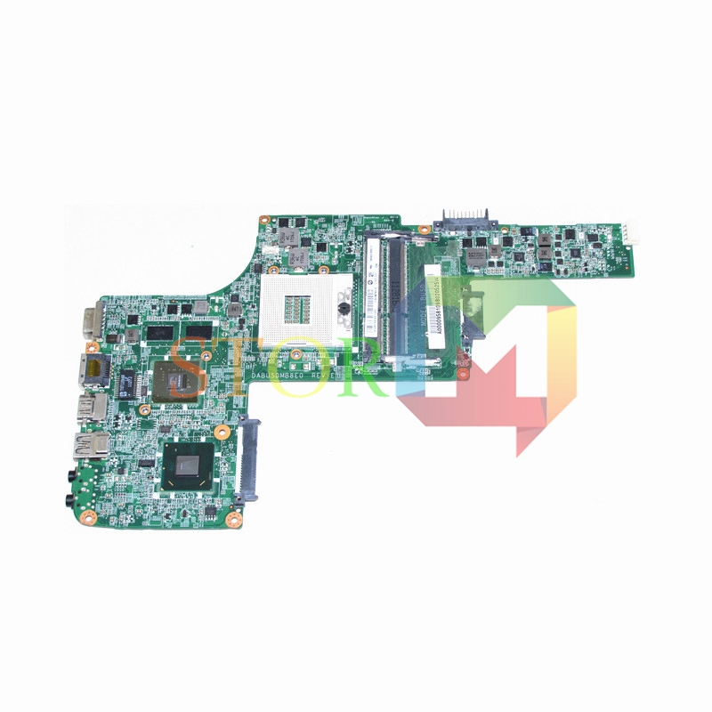NOKOTION for toshiba satellite L730 laptop motherboard DABU5DMB8E0 REV E A000095810 HM65 Geforce GT 310M DDR3 k000055760 laptop motherboard for toshiba satellite a200 a205 iskaa la 3481p rev 2a intel gl960 ddr2 without graphcis slot