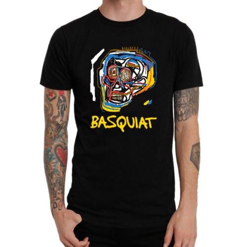 Gildan Jean Michel Basquiat Art Logo Style New Shirt