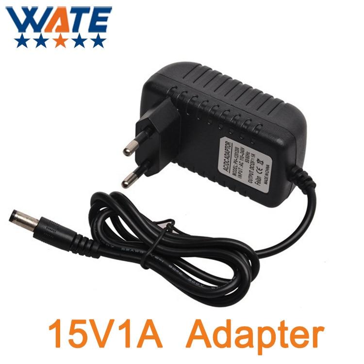 15V1A AC 100V-240V Converter Adapter DC 14V1A 1000mA Power Supply EU Plug 5.5mm x 2.1-2.5mm Free shipping