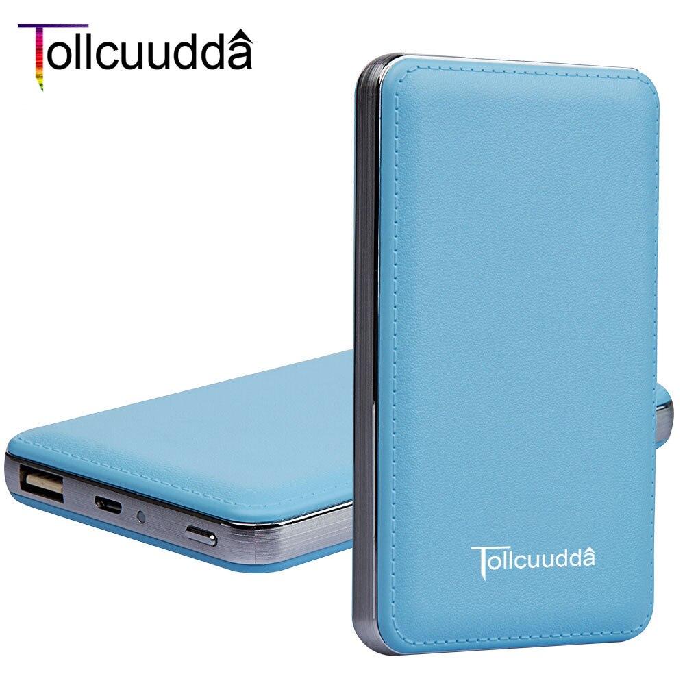 Tollcuudda banco de la energía 10000 mah cargador portátil para el iphone xiaomi