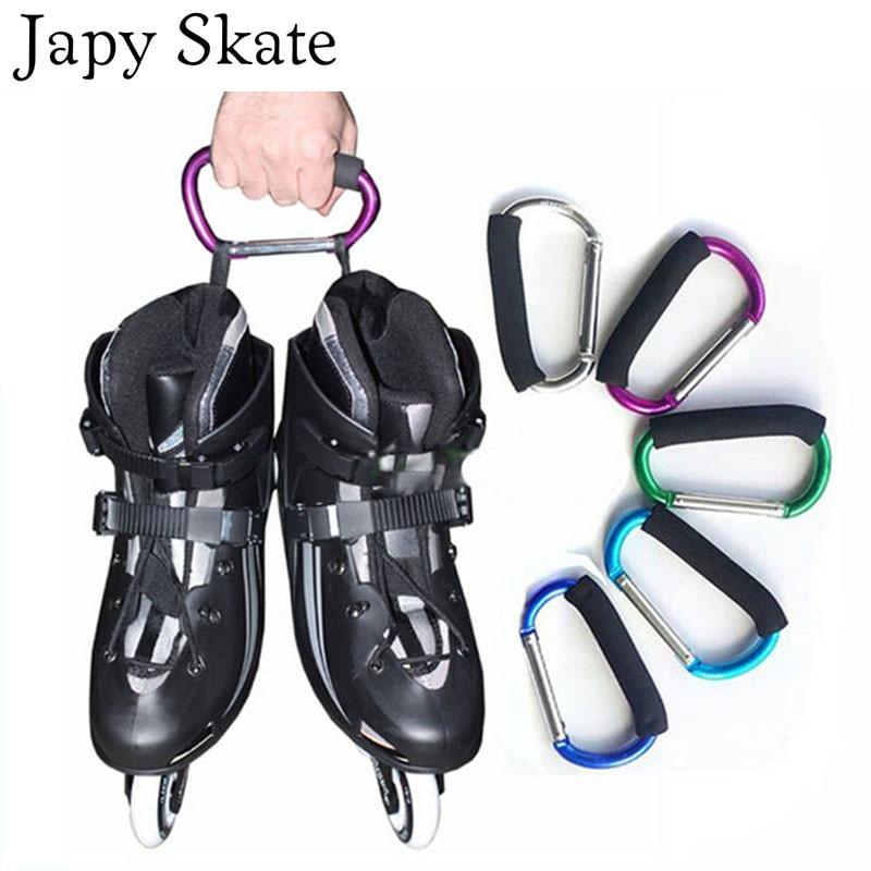 Japy Skate Multifunctional Roller Skates Shoes Handle Buckle Metal Hook Hasps for Inline Slalom Skating Shoes