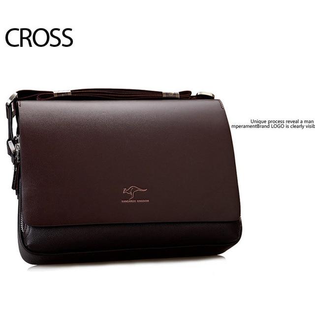 New Arrived luxury Brand men's messenger bag Vintage leather shoulder bag Handsome crossbody bag handbags Free Shipping 3