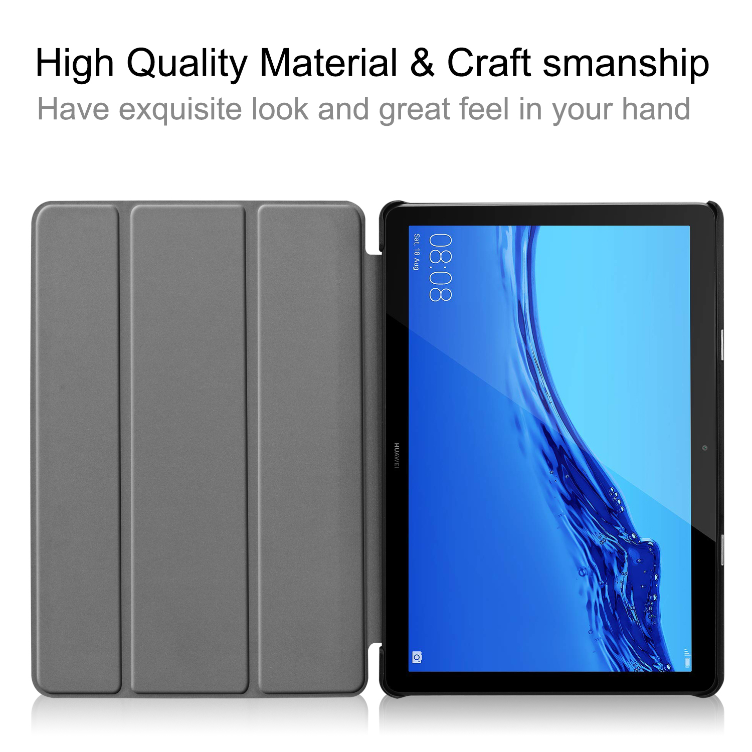 Folding Stand Case For Huawei Mediapad T5 10 Cover For Huawei T5 10 Inch AGS2-W09/L09/L03/W19 Tablet 10.1