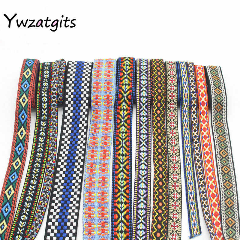 Detail Feedback Questions about ywzatgits 1yard lot Ethnic Embroidered  Jacquard Ribbons Trim DIY For Decoration Handcraft Apparel Sewing Headwear  040059023 ... 86081e9be90a