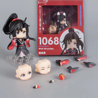 Anime Grandmaster of Demonic Cultivation Wei Wu xian Nendoroid 1068 PVC Action Figure Collectible Kids Toys Gifts
