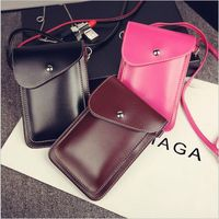 PU Leather Phone Bag Shoulder Pocket Wallet Pouch Case Neck Strap For Wiko Lenny3 Robby Sunny