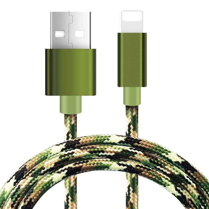 Fdbro Handy Kabel Für Iphone Micro Usb Typ C Usb 1 M 2.4a Denim Telefon Ladegerät Linie Daten Linie Für Ipad I8 Iphonex Datenkabel
