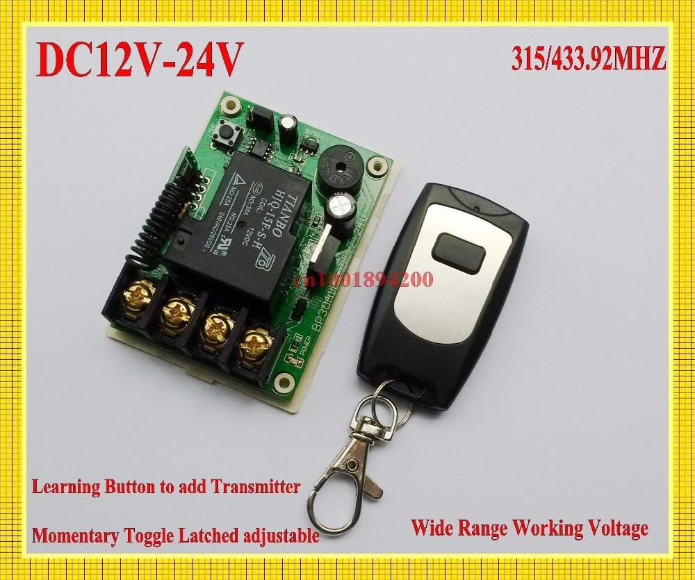 DC12V 24V 30A Relay Remote Control Switches 12V 13V 14V 16V 18V 24V ...