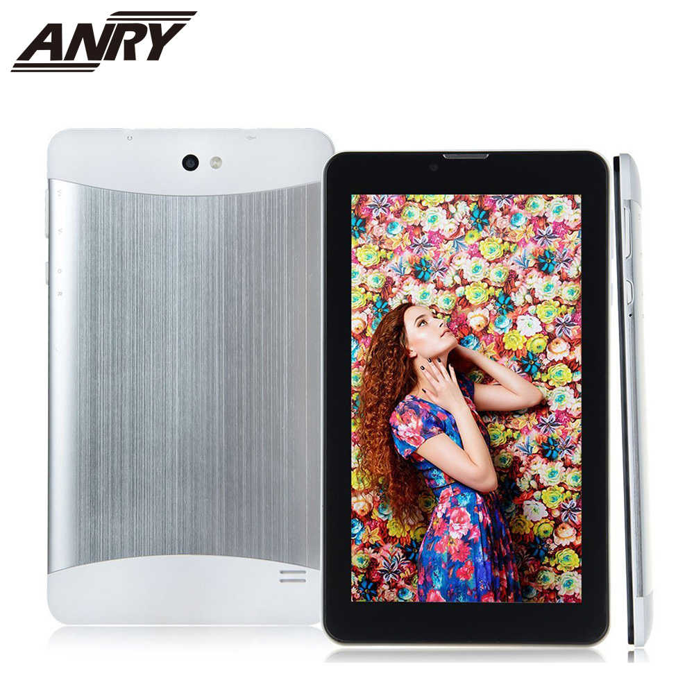 ANRY 7 inch tablet pc 3G call HD screen Android 4.4 MTK6572 Dual Core 512M RAM 4GB ROM Big Battery 3500mAHANRY 7 inch tablet pc 3G call HD screen Android 4.4 MTK6572 Dual Core 512M RAM 4GB ROM Big Battery 3500mAH