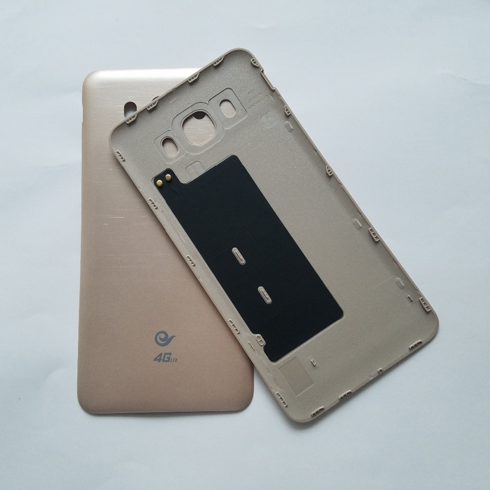 For Samsung Galaxy J7 2016 J710 J710F J710FN J710H J710M J710MN Phone Gold Housing Rear Window Battery Door