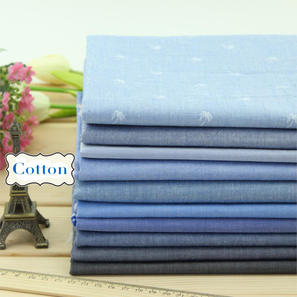 2016 Summer Blue Cloth water wash retro Denim 100% Cotton Fabric Sewing Patchwork DIY Cloth (1 meter)