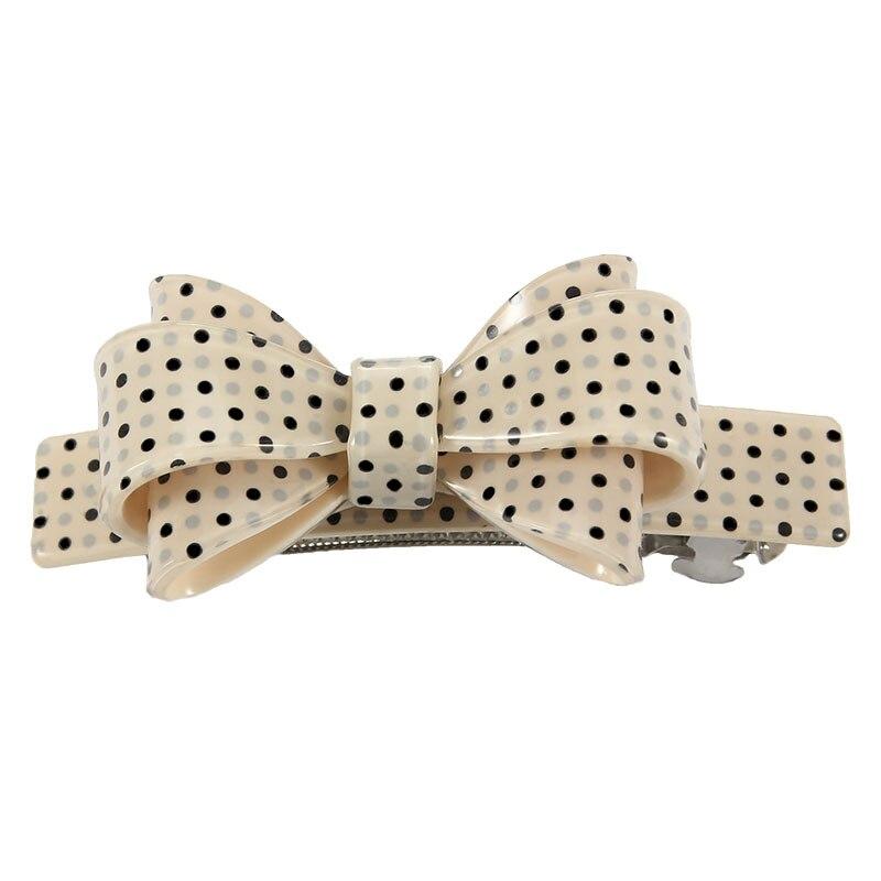 2018 New Fashion Bowknot Hairgrips for Women Hair Barrettes Cute Dots Hair Clips for Women Hair Accessories   Headwear