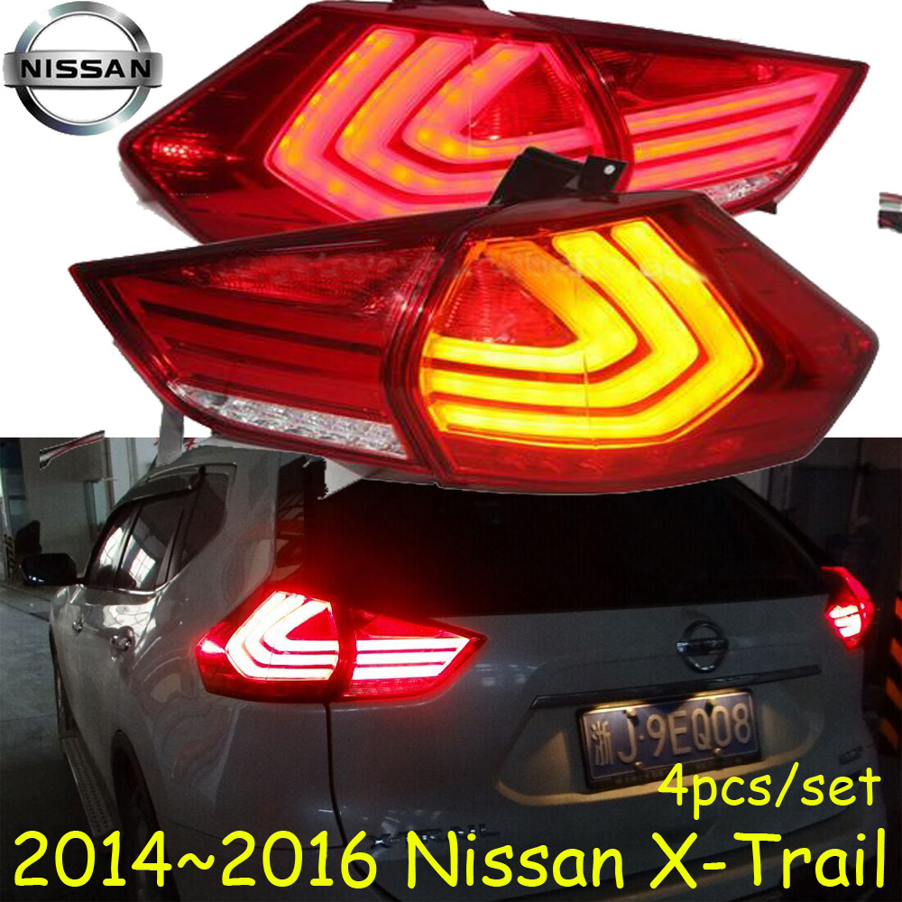 X-Trail taillight,2014~2016,Free ship!rogue,X-Trail rear light,Red/Black color,X-Trail headlight;X Trail,XTrail