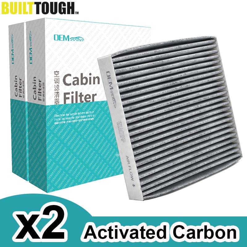 1PC Cabin Air Filter with Activated Carbon AC Clean Replace Toyota 87139-52020