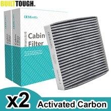 2x filtr kabinowy pyłek samochodowy węgiel aktywny dla Toyota Yaris RAV4 Camry Lexus RX GS LX GX Subaru Outback 87139-YZZ08 87139-50060