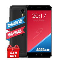 Original Ulefone Power 2 Mobile 6000mah 4GB RAM 64GB ROM 5 5 FHD 16MP Android 7