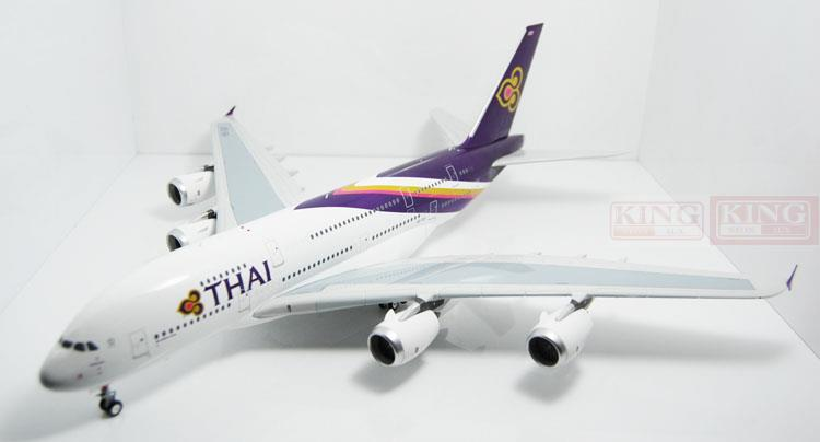 Eagle 100003 Thailand HS-TUF Airlines 1:200 A380 commercial jetliners plane model hobby phoenix 11132 thailand airlines hs tbg 1 400 a330 300 commercial jetliners plane model hobby