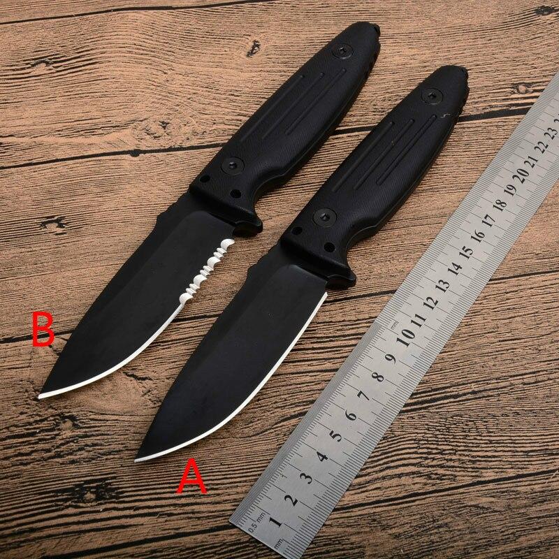 HOT POH A89 couteau à lame fixe avec coupe-corde plus tranchante Camping chasse survie tactique Bushcraft couteaux Multitool et K gaine