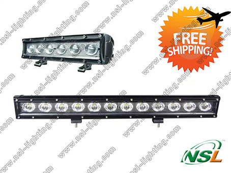 "20"" 60W LED light bar 60W SR Series LED Light Bar with 5W CREE LED/Driving Light Bar ATV/ UTV/ Truck (NSL-6012A-60W)"