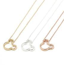 Три цвета на выбор милое колье с головой Микки ожерелье женский
