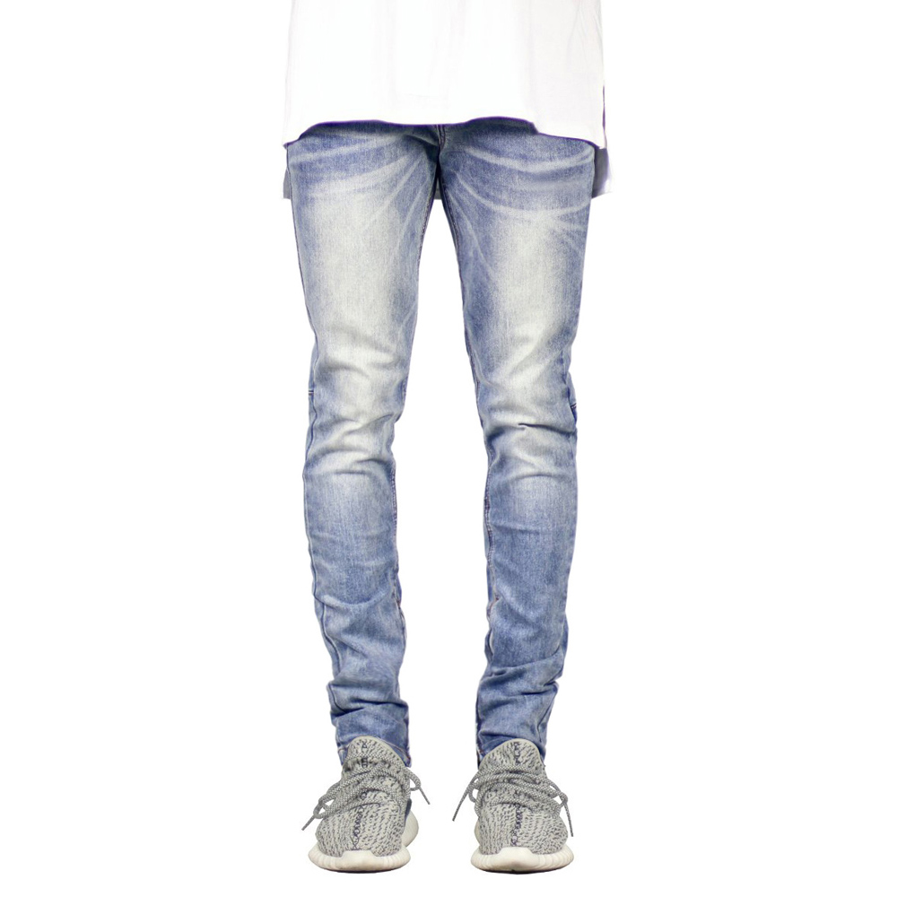 2019 Men Jeans Fashion Stretch Hip Hop Jeans Y1909