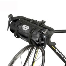 Outdoor Cycling Bike Bag Rainproof 3-7L Bicycle Front Tear Resistant Jacquard Nylon MTB Mountain Riding Tail Bags