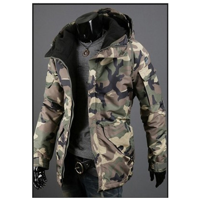 Clothing Wind Winter Camouflage Cotton Men's New Autumn Cap Hot-Seller