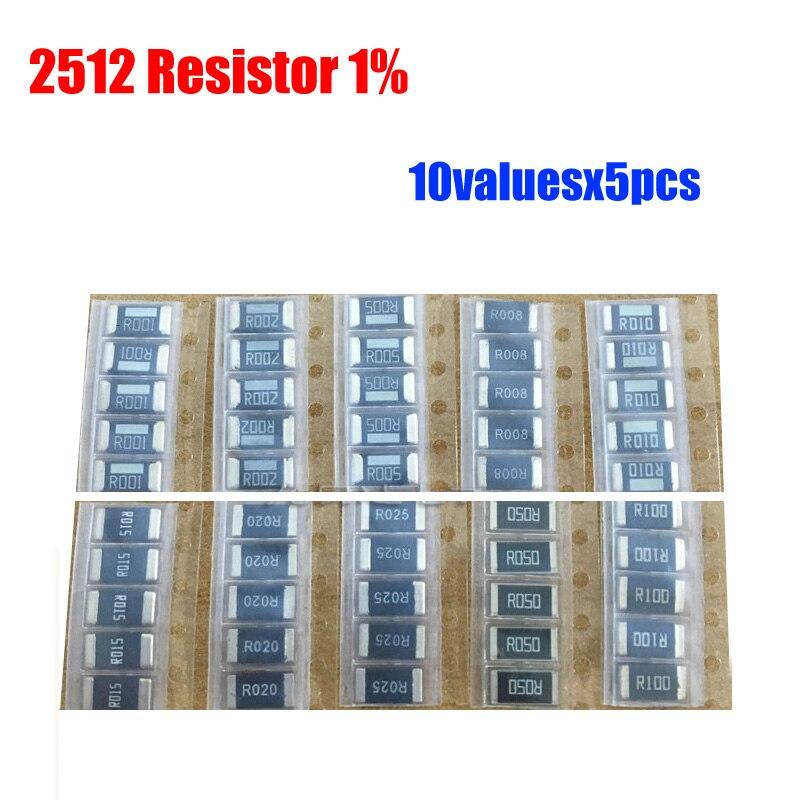Current Sense Resistors 500 pieces SMD 0.39 Ohm 1/% 1//10W