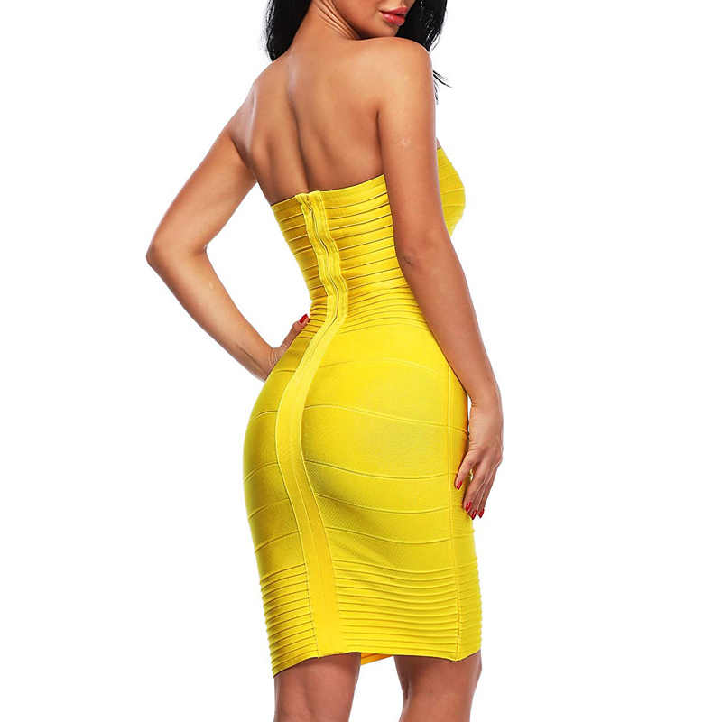 INDRESSME элегантные Для женщин Бандажное вечерние сексуальное платье без бретелек с вырезом лодочкой с низким вырезом на спине, однотонное мини-осеннее женское платье Vestidos 2019 Новый