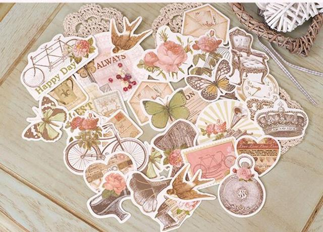 25pcs Vintage Car Cardstock Die Cuts for Scrapbooking/Card Making/Journaling Project Planner DIY