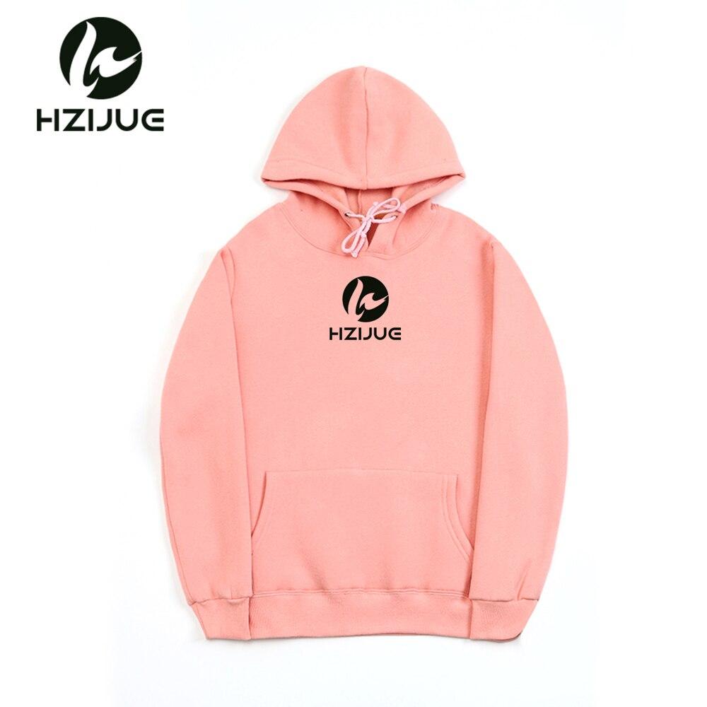 HZIJUE brand 2018 Long Sleeve 12 COLORS Sweatshirt Men Hooded casual Sweatshirt Hoodies hzijue print mens hoodie Pullover
