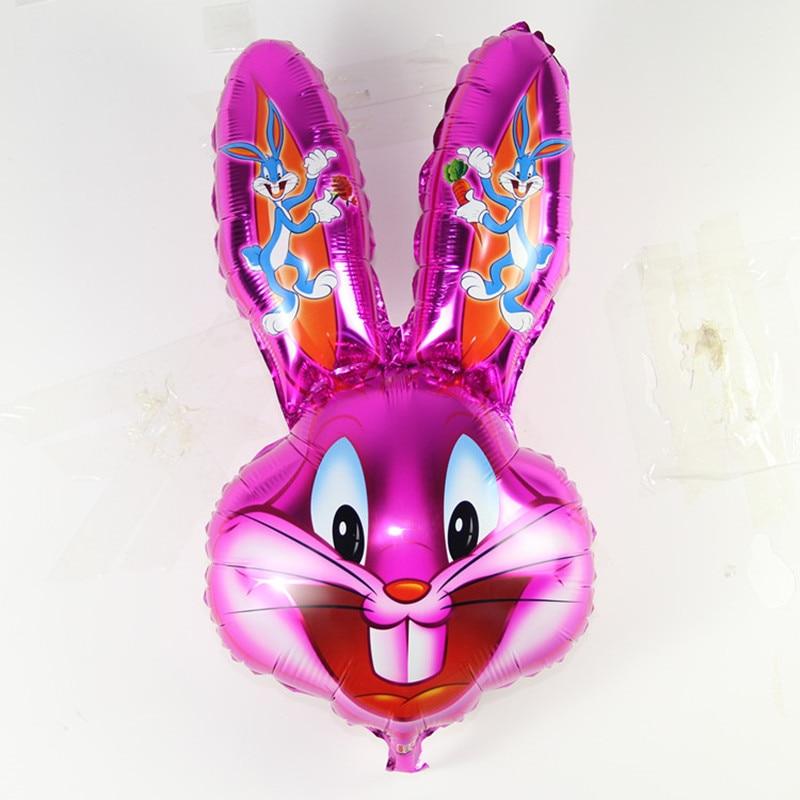 Шары в виде Головы Кролика Bugs Rabbit, шары в виде животных, мультипликационные мелодии, шарики в виде животных, Детские классические игрушки, па...
