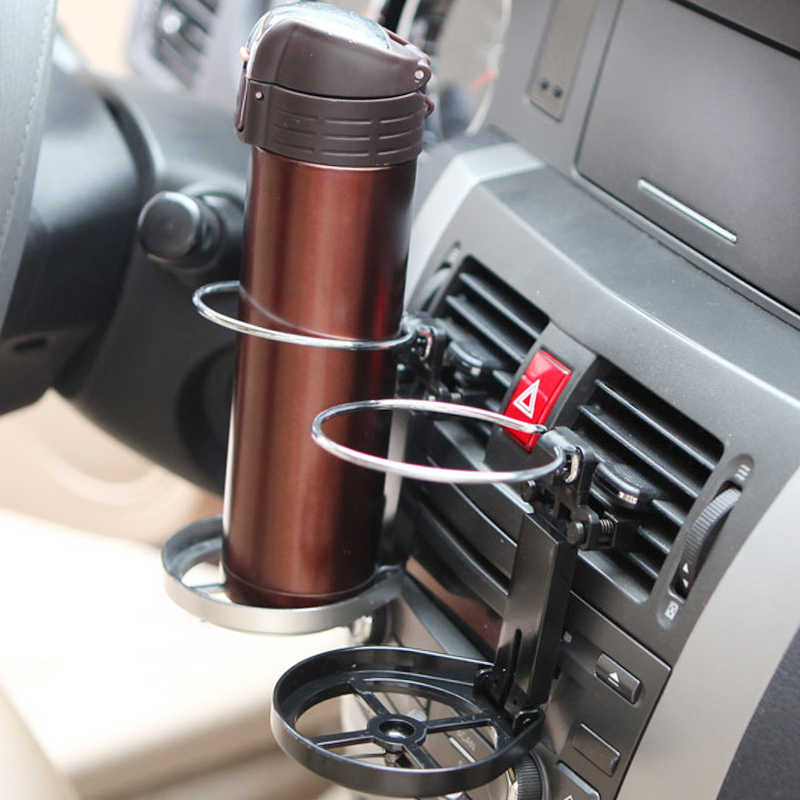 Car Outlet Water Cup Holder Foldable Drink Holder Air Conditioning Outlet Cup Holder Cup Holder Stand Bracket