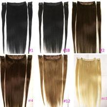"""ZZHAIR 100 г-200 г 1""""-28"""" волосы remy для машинного производства, 5 шт. в наборе, 9 клипсов, человеческие волосы для наращивания, Натуральные Прямые Волосы"""