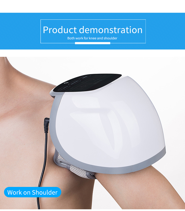 Medical toouch display screen knee physiotherapy equipment knee pain at night treatment at home laser knee health care products