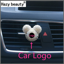 Hazy beauty Car Logo fashion High-grade Car perfume Air Freshener Air conditioner, air outlet, perfume decorations Automobile